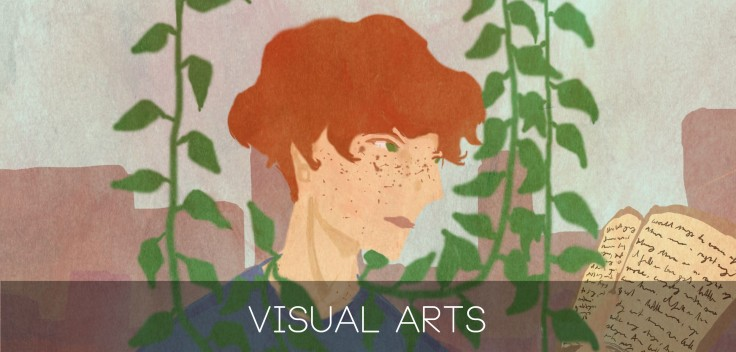 visual arts banner copy